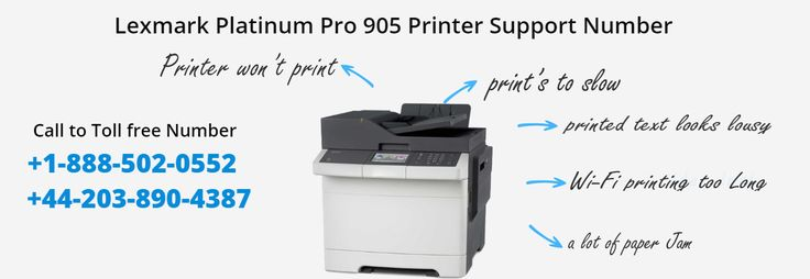 Lexmark Platinum Pro905 Printer Powerful output solution that can adapt and grow as your workgroup printing needs change. We saw some minor issues, including one indoor shot where the skin tone was a little yellow making the person in the photo seem jaundiced.