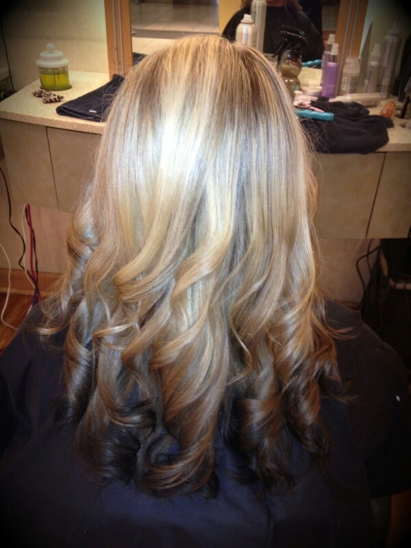 Reverse ombre   hairst...