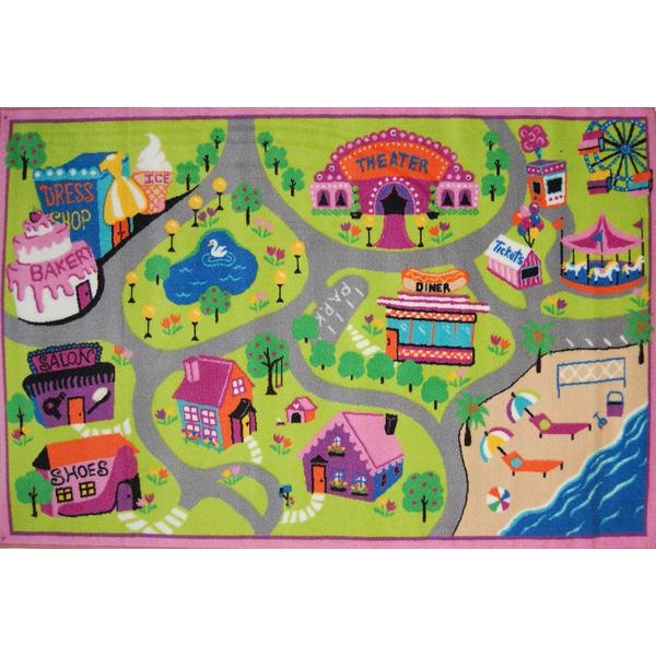 Animal Print Rugs Love this rug for a girls room They love playing with cars so it