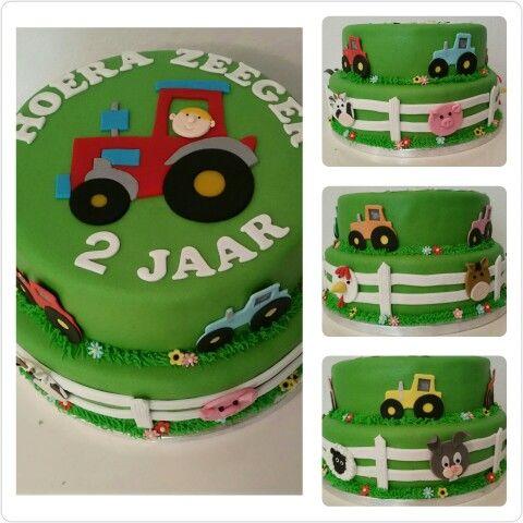 Boerderij taart / Farm cake