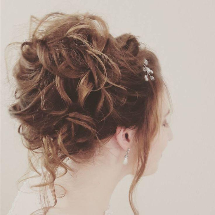 Beautiful wedding hair up