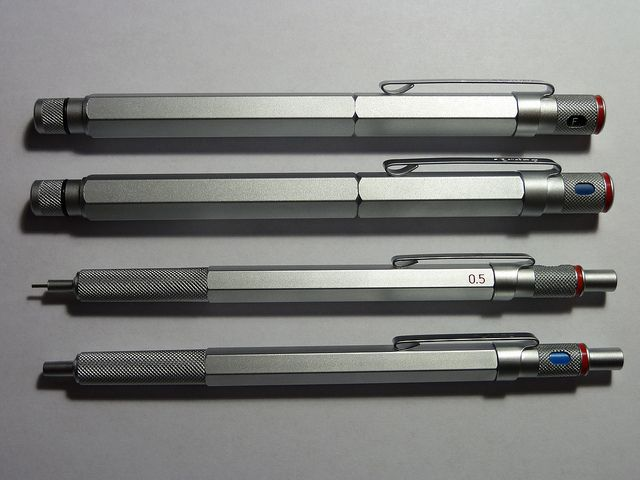 The Rotring 600 series of writing instruments!