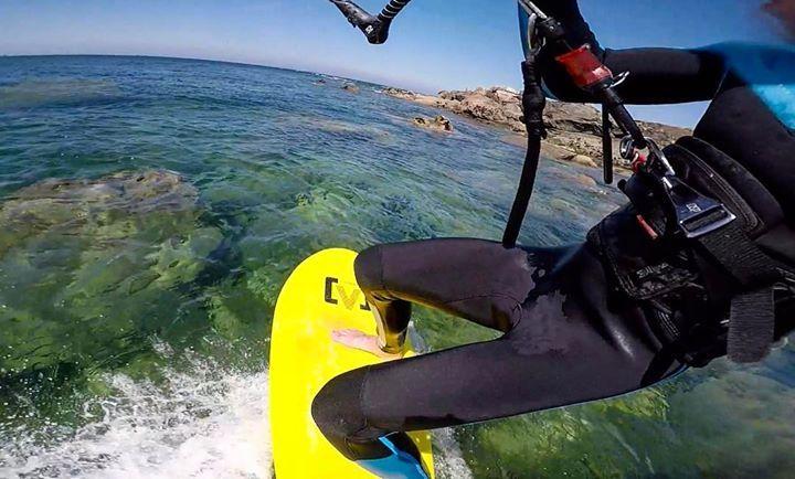 Le surf Victory est le seul a pouvoir vous faire découvrir les cailloux  !