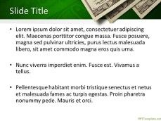 Free Money PowerPoint background