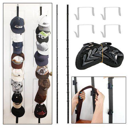 3 Adjustable Hooks Over Door Hanger With Straps Diy Up