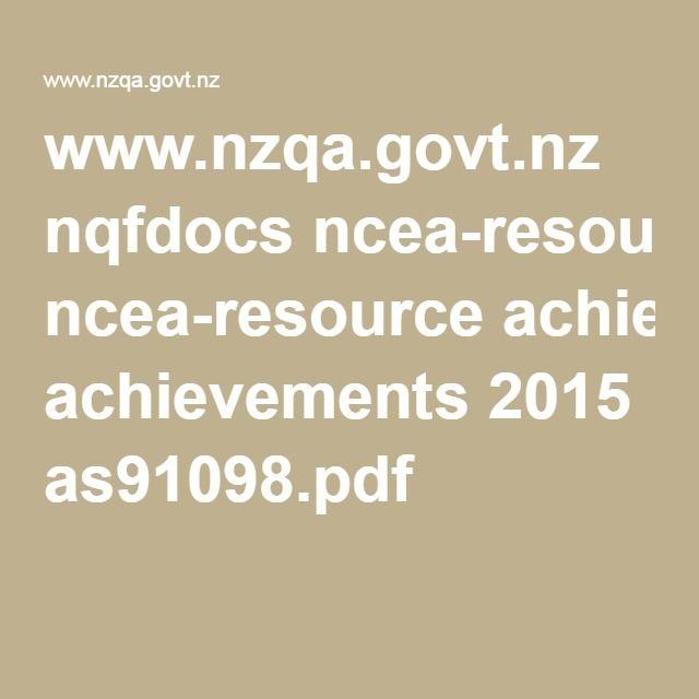 www.nzqa.govt.nz nqfdocs ncea-resource achievements 2015 as91098.pdf