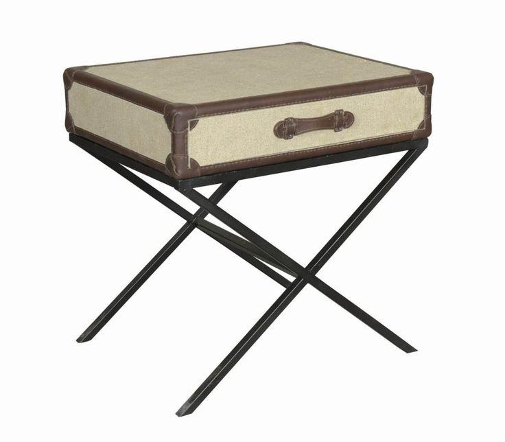 odkládací stolek se zásuvkou / styový toskánský nábytek
