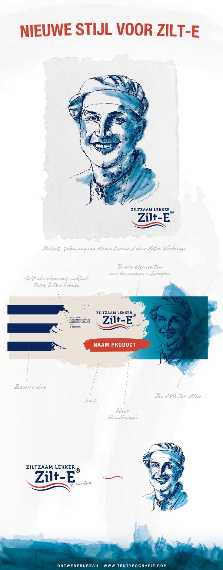 • NIEUWE STIJL VOOR ZILT-E • Vanaf komende week zullen we steeds meer van de nieuwe #stijl van Zilt-E onthullen.  Hieronder de introductie met handgetekend #portret van Hans Everse   -- #Thee & #Typografie is zeer blij met deze nieuwe toffe klant en zijn prachtige bedrijf Zilt-E met 'Zeker #Zeeuws' #keurmerk.  -- Binnenkort meer over zijn producten zoals #Zeeuwse #snert, #Oosterscheldewater, #frites en meer!  -- #tentypografie #grafisch #ontwerp #ontwerpbureau #verpakking #vlissingen…