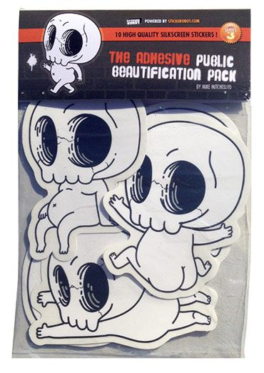 Sticker Robot Store - The Adhesive Public Beautification Pack by Mike Mitchell - NEED