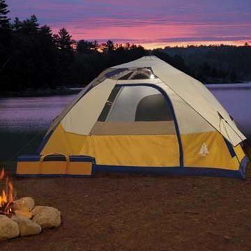 Woods Solar-Powered EZ-Tent