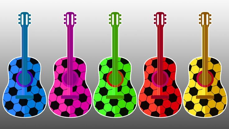 Learn Colors with Guitar and Soccer Balls - Colors Learning Video for Kids Children With Soccer Ball Learn Colors with Guitar and Soccer Balls - Colors Learning Video for Kids Children With Soccer Ball https://youtu.be/Yjuk4YsQpI0 Subscribe for more Colorful Video: https://www.youtube.com/channel/UCbSuTlWs4hQSmiQb7i3MmGA?sub_confirmation=1 Learn Colors with Animal an Toilet Poop BEARDED BABY CRYING Finger Family Nursery Rhymes…