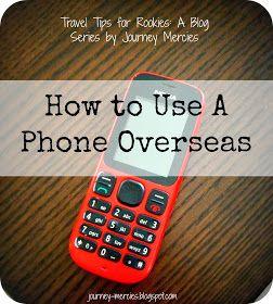 Use phone overseas