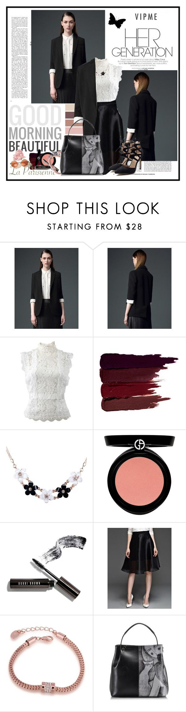 """USE THIS CODE TO GET 10% OFF ON ORDERS OVER $50: M2COUPON4"" by cindy88 ❤ liked on Polyvore featuring Oscar de la Renta, Serge Lutens, Armani Beauty, Bobbi Brown Cosmetics and vipme"