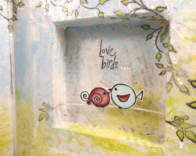 PaperArtsy: 2015 #11 Wish {by Trish Latimer}