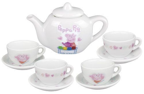 Peppa Pig Porcelain Tea Set (Dispatched From Uk), 2015 Amazon Top Rated Dishes & Tea Sets #Toy