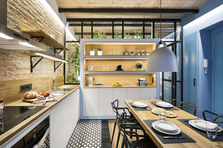 A Smart Layout Maximizes Space in This Compact Urban Beach Apartment in Barcelona - Photo 1 of 11 - Dwell