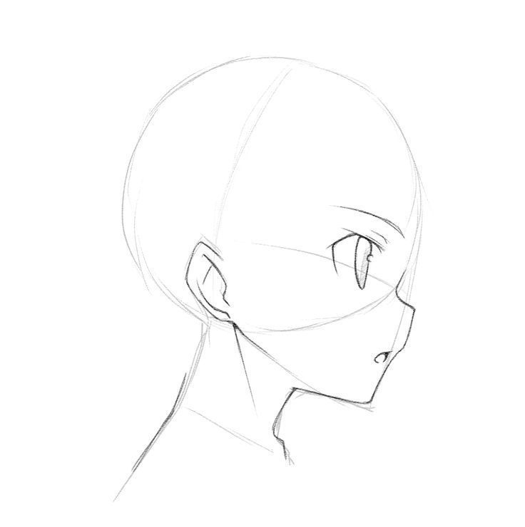 How To Draw Different Angles Of Face World Manga Academy How To Draw Differ アニメの描き方 頭のスケッチ 顔を描く