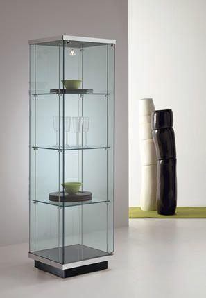 Cristaleira em vidro por Tonelli Design - Linha Broadway Vetrina