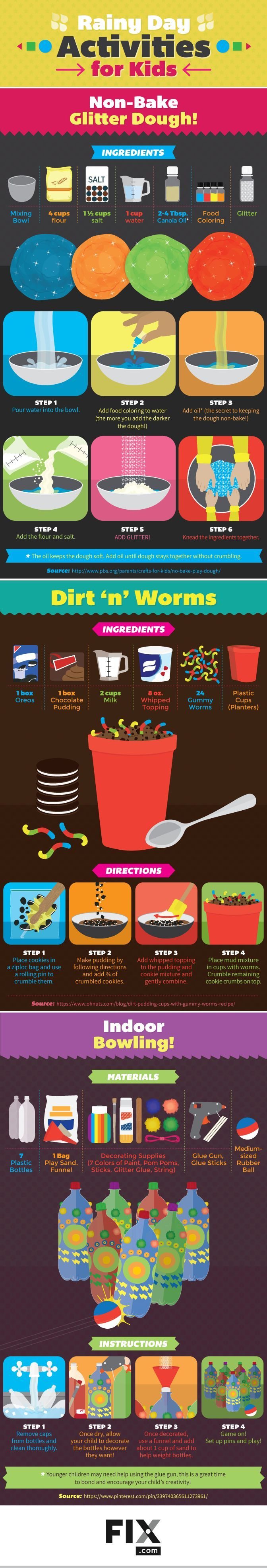 Check out Fun Kids Activities On A Rainy day | [Infographic] at http://diyready.com/rainy-day-activities/