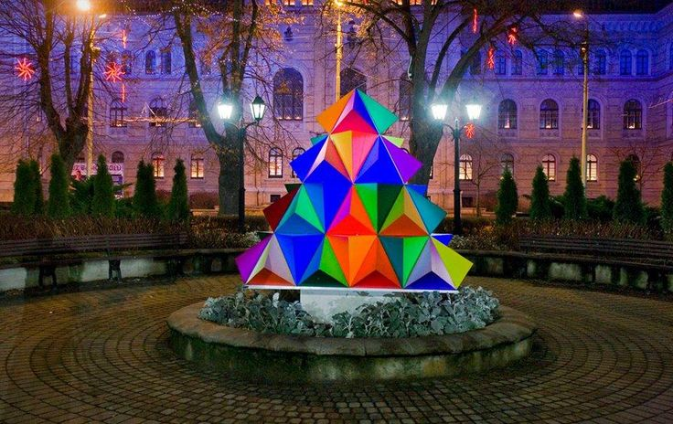 Riga truly has some of the most interesting Christmas trees!