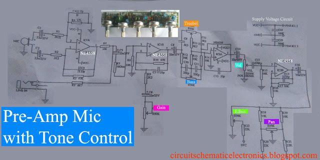Further Tone Control Circuit Diagram On Hall Effect Circuit Diagram