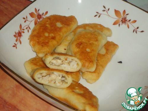 Жареные пельмени из картофельного теста - кулинарный рецепт