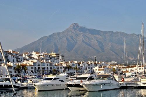 Puerto Banus, Marbella. Walking distance from La Alzambra Hill Club,a luxury gated complex. For more visit  www.alzambra.com