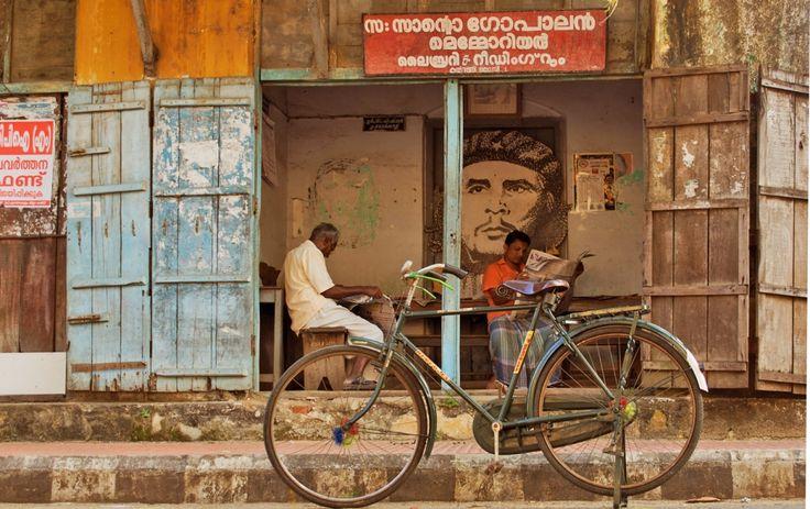 Dagelijks leven in Cochin (gemaakt in Kerala)