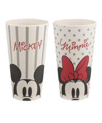 Disney Mickey & Minnie Mouse 24-Oz. Tumbler - Set of Two