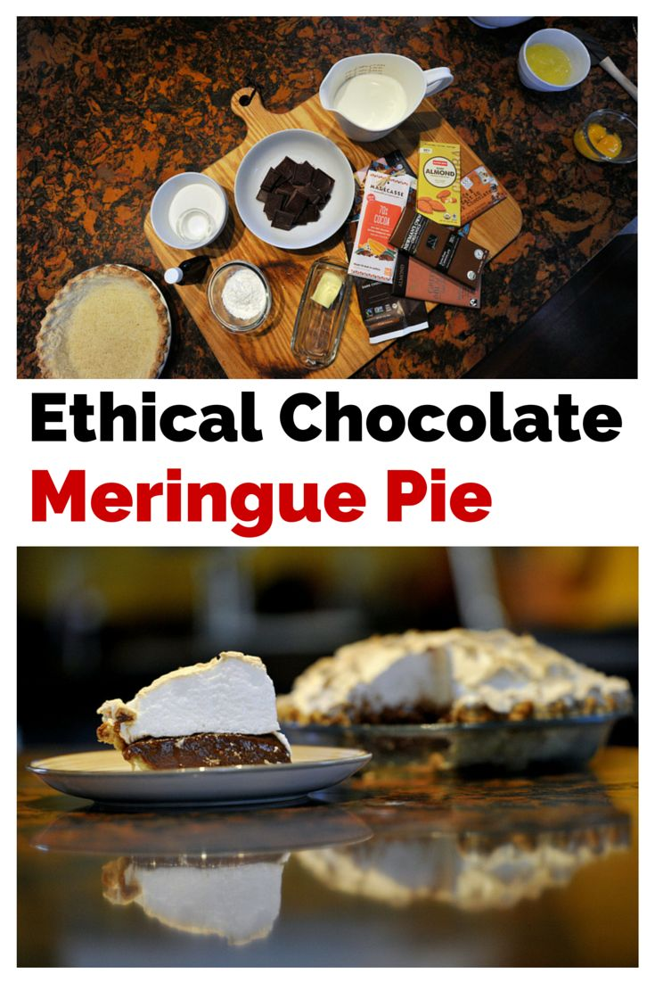 Use chocolate you can feel good about in this deliciously rich Chocolate Meringue Pie