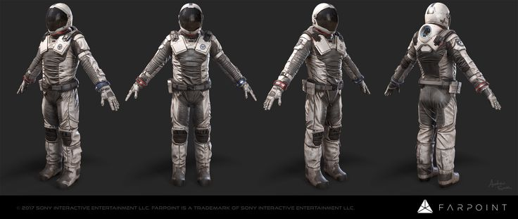 ArtStation - Farpoint - Wanderer, Andrew Smith