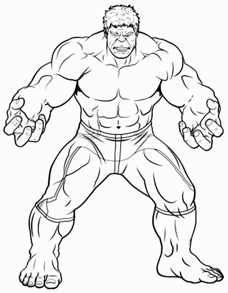 Superhelden Malvorlagen zum Drucken und Ausmalen #