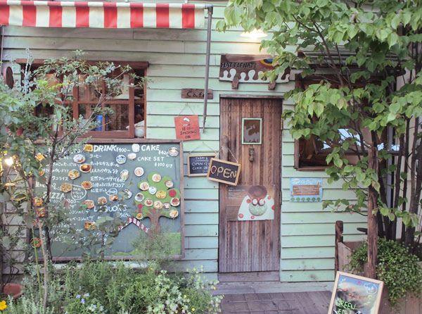Hattifnatt Cafe TOKYO by polkaros, via Flickr