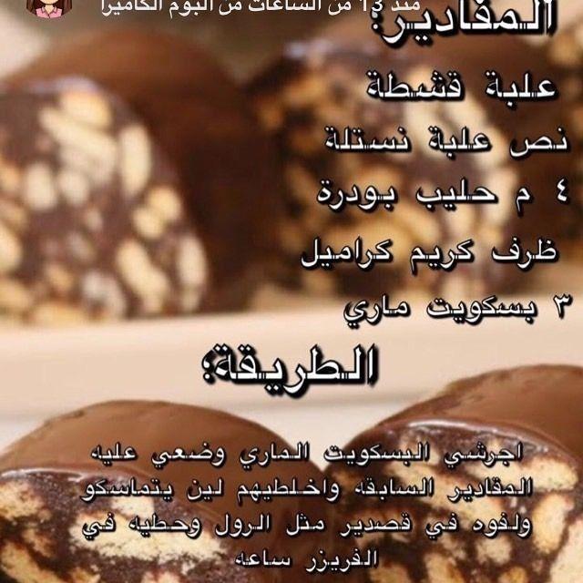 Pin By Soso On وصفات حلى كرات Desserts Sweets Food