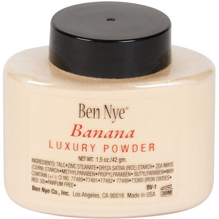 Banana Nye Powder on Pinterest : Banana powder, Banana powder makeup ...