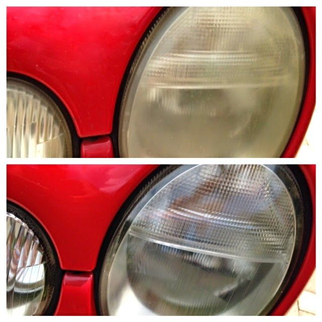 MAY DAYS: TIP: Dingy Yellow Headlights? Use Deep Woods Off to restore headlights
