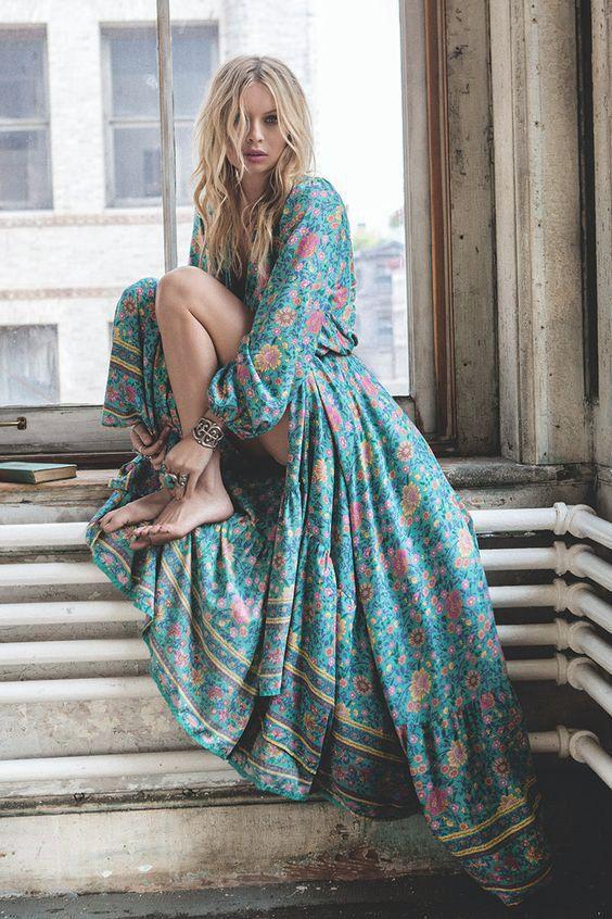 On the blog: Beautiful Bohemian Maxi Dresses