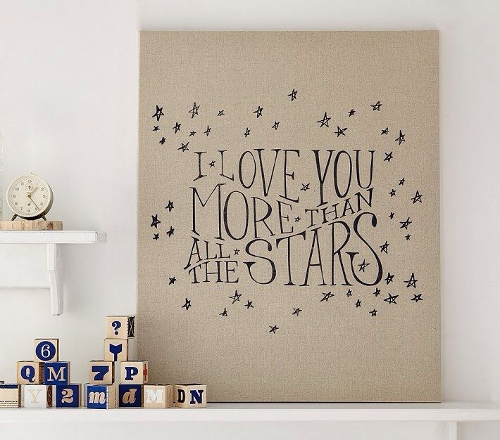 Stars canvas