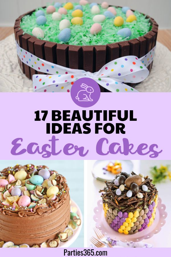17 Beautiful And Easy Easter Cake Ideas Easter Food Recipes