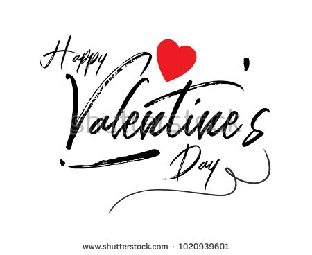 14 best shutterstock images on pinterest happy valentines day typography poster with handwritten calligraphy text vector design for greeting cards and poster fandeluxe Gallery