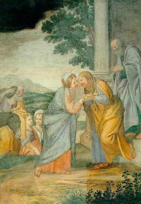 Visitazione.  1618. Cappella Nolfi nel Duomo di Fano