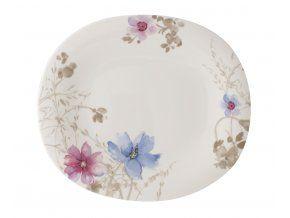 Mariefleur Gris Basic Oválný mělký talíř, Villeroy & Boch