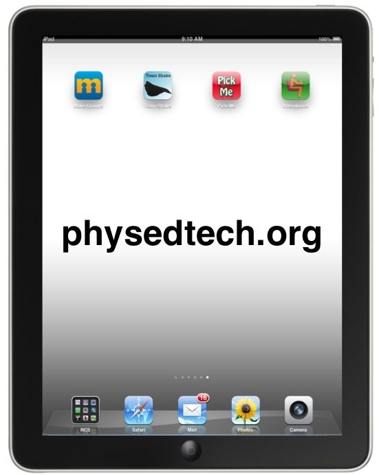 Physedtech | New and innovative uses of the iPad & technology in Physical Education (PE)