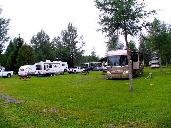 Camping Grande Riviere At St Leonard New Brunswick Canada