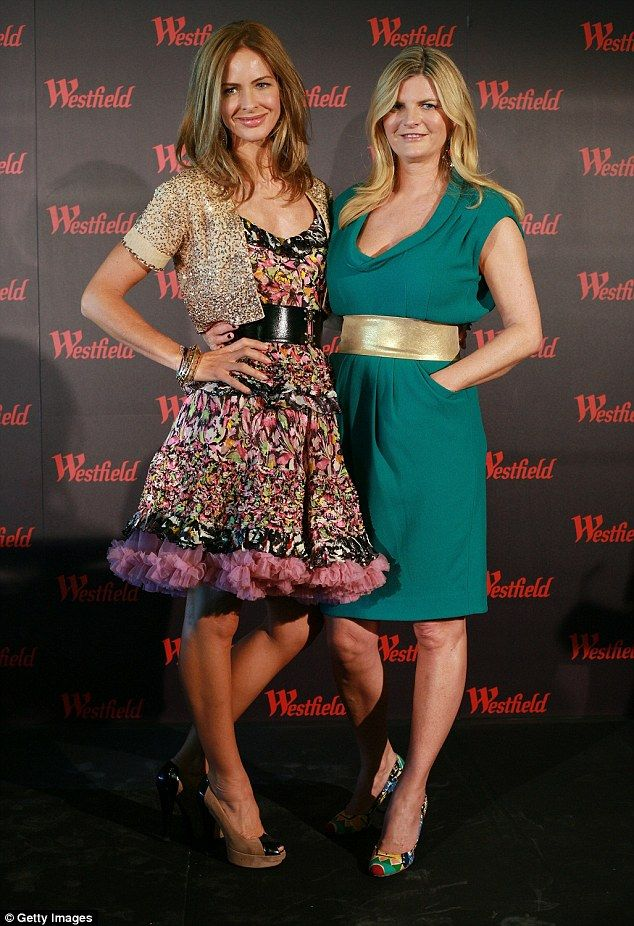Into the jungle? Susannah Constantine (right) is reportedly the latest famous face to have...