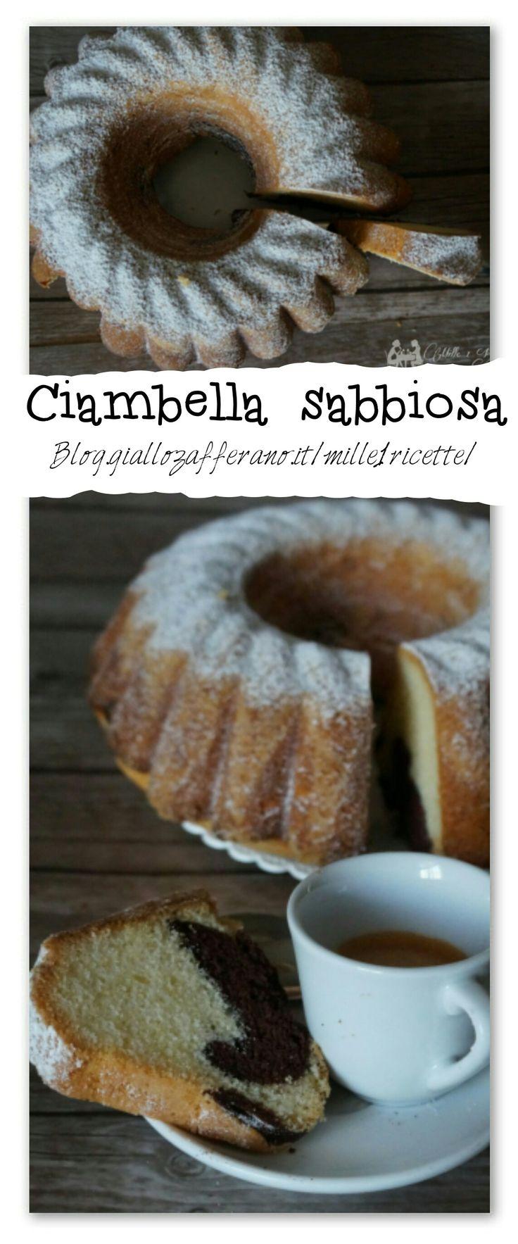 Ciambella sabbiosa  Ingredienti: ✔Uova  ✔Zucchero  ✔Farina 00  ✔Fecola Di Patate  ✔Vanillina  ✔Lievito Per Dolci ✔Olio Di Semi   ✔Cacao Amaro In Polvere   ✔Zucchero A Velo