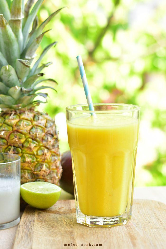 smoothie kokos recept