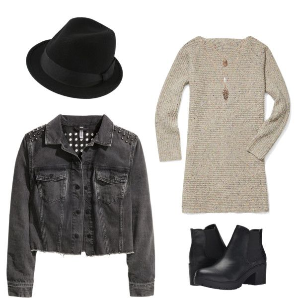 Denim Jacket Lovers by doubleblonded on Polyvore featuring polyvore, fashion, style, Rebecca Minkoff, H&M and Steve Madden