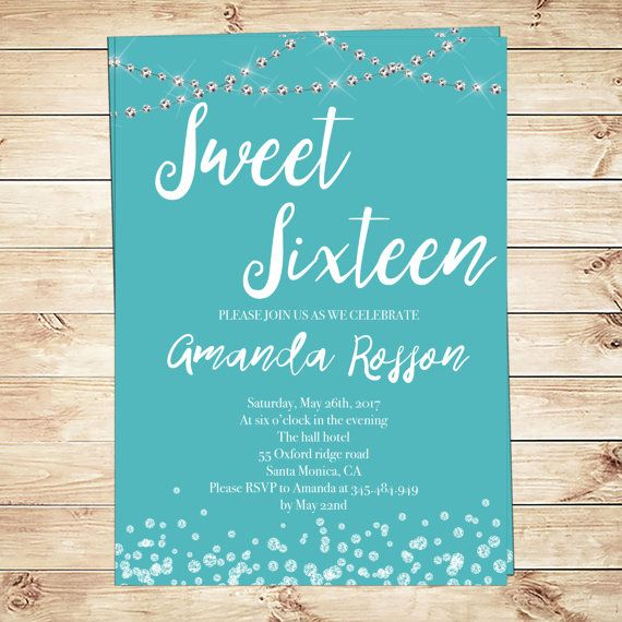 48 Best Sweet Sixteen Party Ideas From Glam Paperie Images On