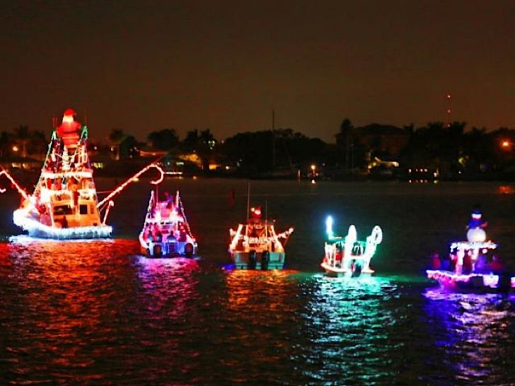 Best Christmas Lights Of 2020 Florida Annual Festival of Lights Illuminated Boat Parade in Madeira Beach